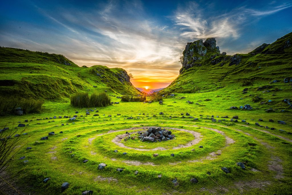 Sacred Sites – Setting Sun